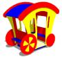 Игровой макет для детей «Карета» СКИ 060